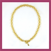 Gold Starter Charm Necklace-Type A