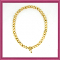 Gold Starter Charm Necklace-Type B