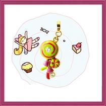 Mystery Swirlly Lollipops Charm