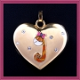 Gemma in My Heart Charm
