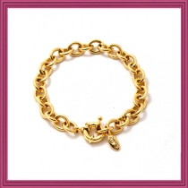 Gold Starter Charm Bracelet - Type A